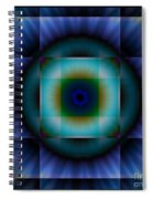 Circle Square Spiral Notebook