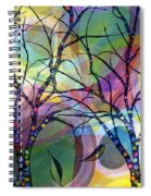Circle Trees Spiral Notebook