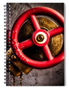 Circles In Square Spiral Notebook