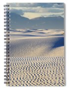 Circles In The Sand Spiral Notebook
