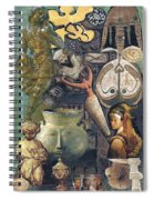 Circles Of Life Spiral Notebook