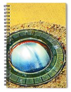 Circles Within Circles Within Spiral Notebook