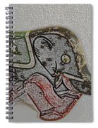 Circus Elephant Spiral Notebook