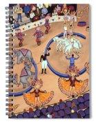 Circus Ladies Spiral Notebook