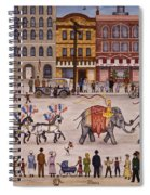 Circus Parade Spiral Notebook