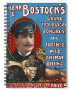Circus Program, C1901 Spiral Notebook