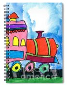 Circus Train Spiral Notebook