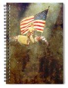 Circus Usa Flag Spiral Notebook