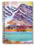 Cirrus Mountain Spiral Notebook