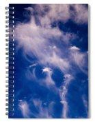 Cirrus Uncinus Clouds 11 Spiral Notebook