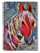 Cisco Abstract Horse  Spiral Notebook