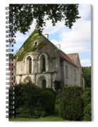 Cistercian Abbey Of Fontenay Spiral Notebook