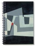 Citadel, Version 3, 1982 Oil On Hardboard Spiral Notebook