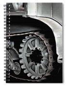 Citroen Half Track - Automobile  Spiral Notebook