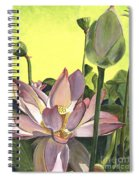 Citron Lotus 2 Spiral Notebook