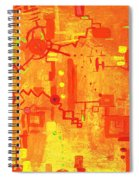 Citrus Circuitry Spiral Notebook