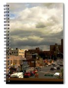 City And Sky Spiral Notebook