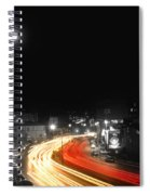 City And The Moon Spiral Notebook