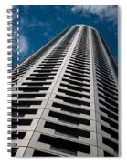 City Apartments Spiral Notebook