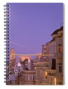 City At Night, San Francisco Spiral Notebook