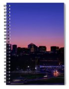 City At The Edge Of Night Spiral Notebook