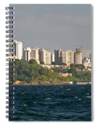 City At The Waterfront, Salvador Spiral Notebook