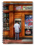 City - Baltimore Md - Explore The Land Of Beer  Spiral Notebook