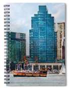 City - Baltimore Md - Harbor East  Spiral Notebook