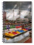City - Baltimore Md - Modern Maryland Spiral Notebook
