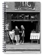 City - Baltimore Md - Tag Galleries  Spiral Notebook