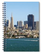 City By The Bay Spiral Notebook