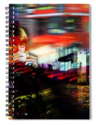 London City Cafe Culture Spiral Notebook