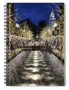 City Creek Fountain - 2 Spiral Notebook