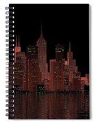 Chicago City Dusk Spiral Notebook