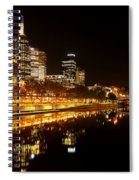 City Glow Spiral Notebook