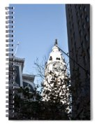 City Hall At Market Street Spiral Notebook