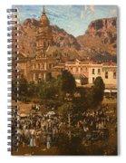 City Hall - Capetown 1917 Spiral Notebook