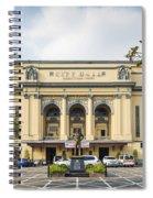 City Hall In Manila Philippines Spiral Notebook