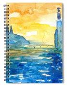 City Hall Stockholm Spiral Notebook
