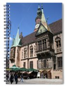 City Hall Wroclaw Spiral Notebook