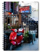 City Jazz Spiral Notebook