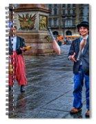 City Jugglers Spiral Notebook