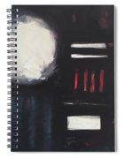City Lights After Rain Spiral Notebook