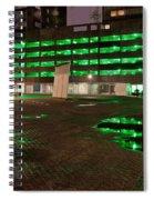 City Lights Urban Abstract Spiral Notebook