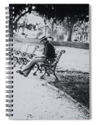 City Lonesome Spiral Notebook