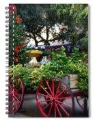 City Market At Christmas Spiral Notebook