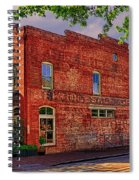 City Market At Savannah Spiral Notebook