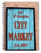 City Market Sign Spiral Notebook