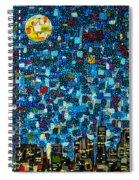City Mosaic Spiral Notebook