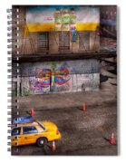 City - New York - Greenwich Village - Life's Color Spiral Notebook